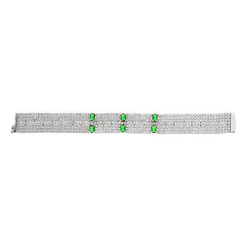 bracelet femme argent zirconium 9500299