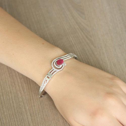bracelet femme argent zirconium 9500302 pic5