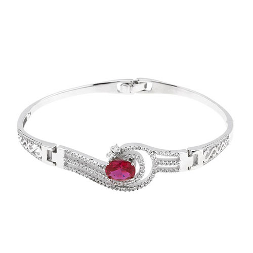 bracelet femme argent zirconium 9500302