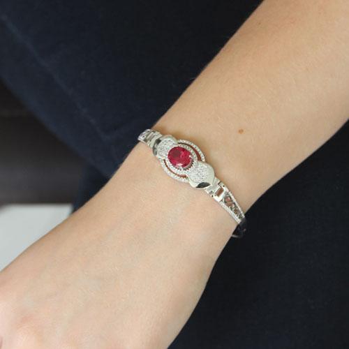 bracelet femme argent zirconium 9500304 pic4