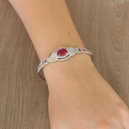 bracelet femme argent zirconium 9500304 pic5