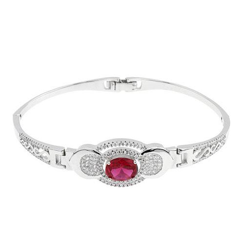 bracelet femme argent zirconium 9500304
