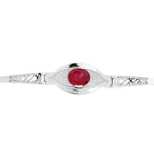 bracelet femme argent zirconium 9500305 pic2