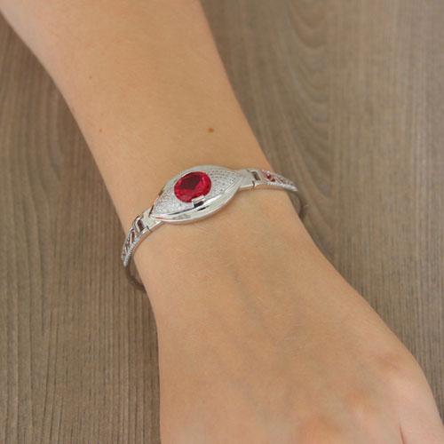 bracelet femme argent zirconium 9500305 pic5
