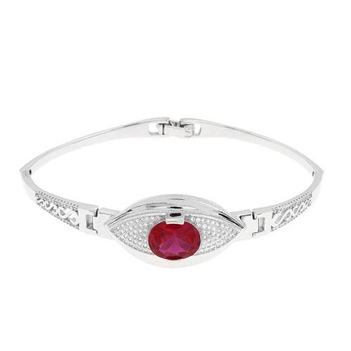bracelet femme argent zirconium 9500305