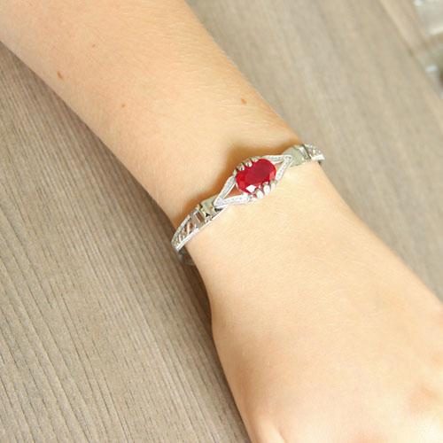 bracelet femme argent zirconium 9500306 pic5