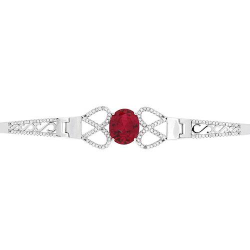 bracelet femme argent zirconium 9500307 pic2