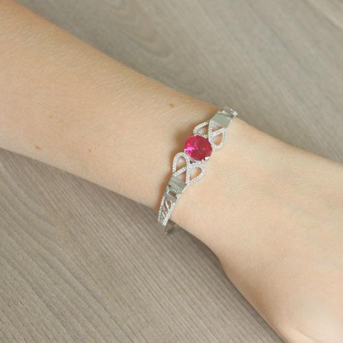bracelet femme argent zirconium 9500307 pic5