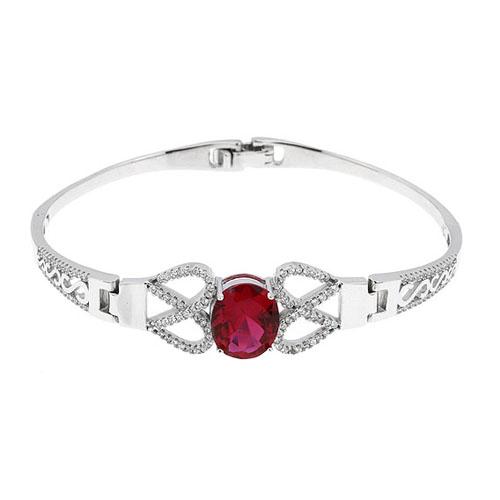 bracelet femme argent zirconium 9500307