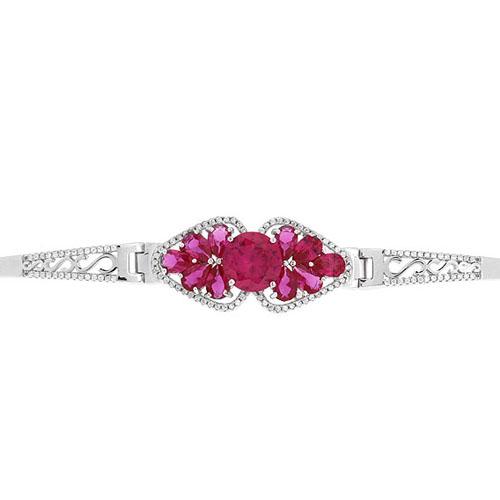 bracelet femme argent zirconium 9500308 pic2