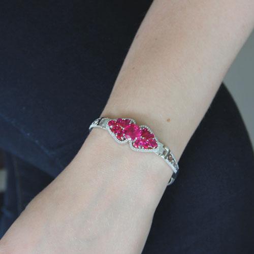bracelet femme argent zirconium 9500308 pic4