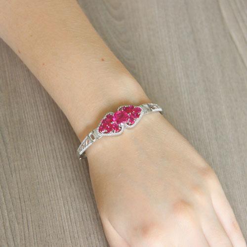 bracelet femme argent zirconium 9500308 pic5