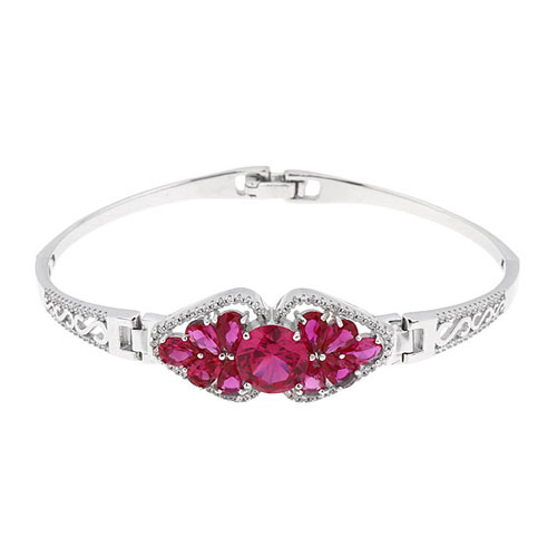 bracelet femme argent zirconium 9500308