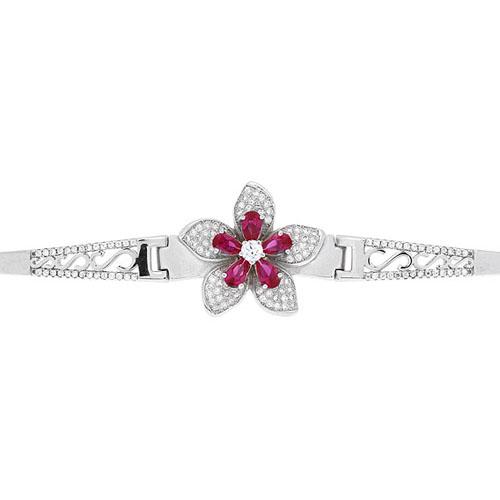 bracelet femme argent zirconium 9500309 pic2