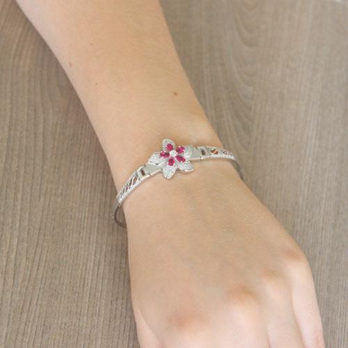 bracelet femme argent zirconium 9500309 pic5