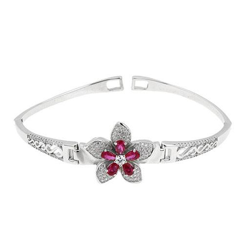 bracelet femme argent zirconium 9500309