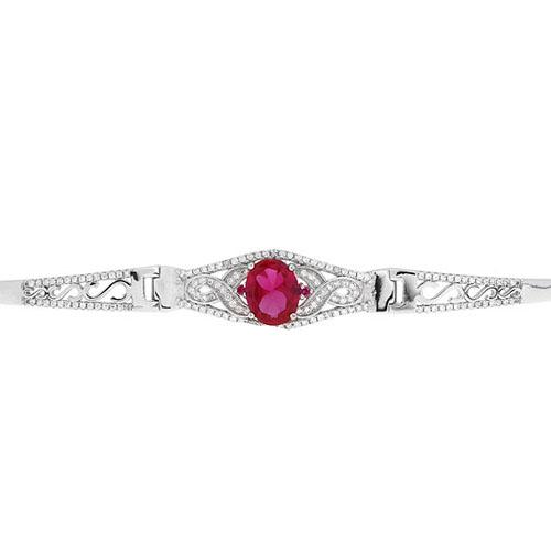 bracelet femme argent zirconium 9500310 pic2
