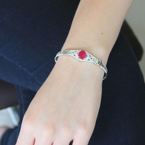 bracelet femme argent zirconium 9500310 pic4