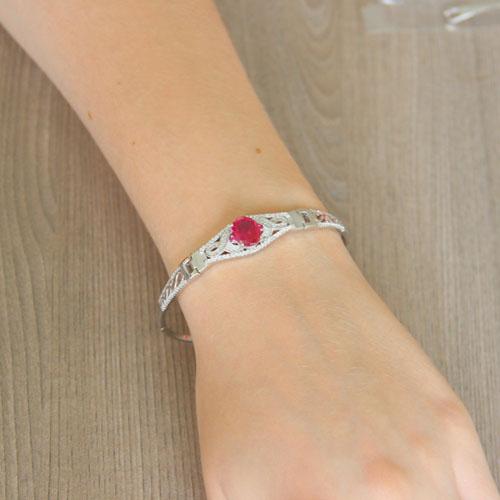 bracelet femme argent zirconium 9500310 pic5