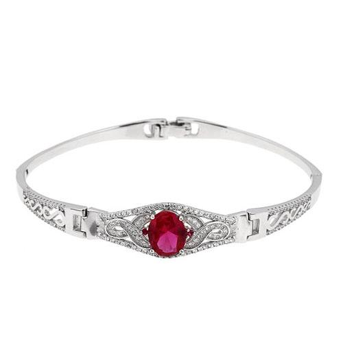 bracelet femme argent zirconium 9500310