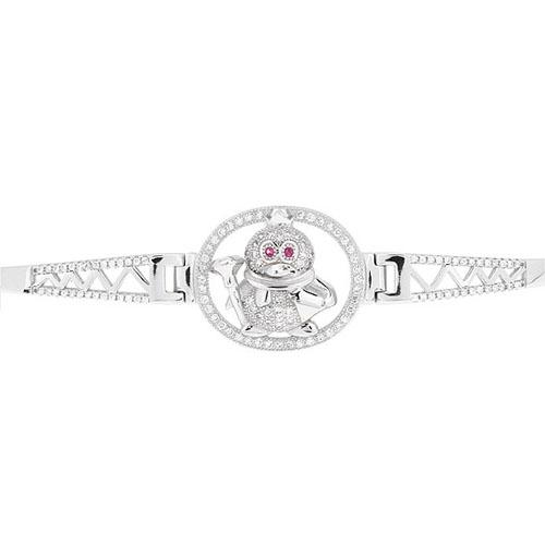 bracelet femme argent zirconium 9500311 pic2
