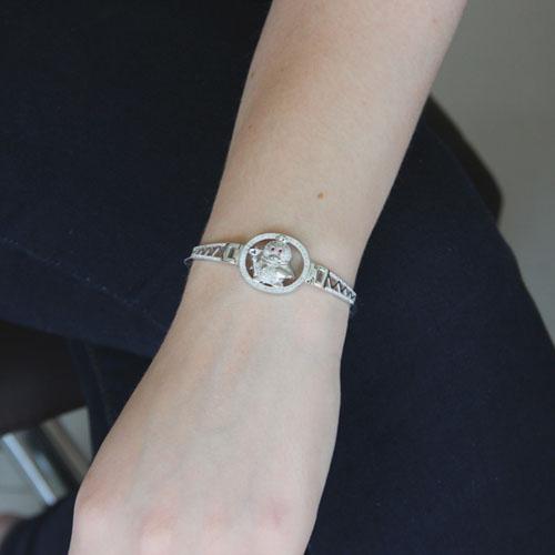 bracelet femme argent zirconium 9500311 pic4