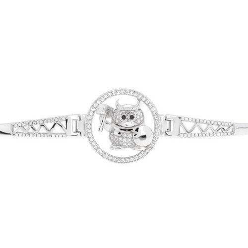 bracelet femme argent zirconium 9500312 pic2