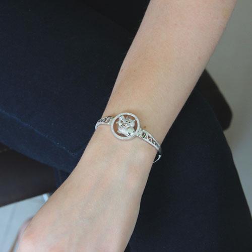 bracelet femme argent zirconium 9500312 pic4
