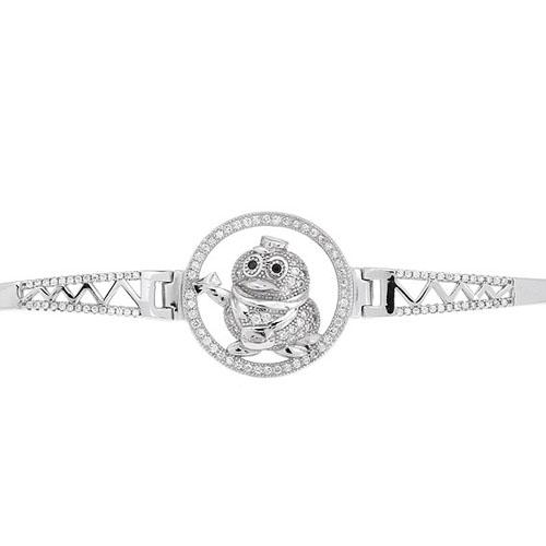 bracelet femme argent zirconium 9500313 pic2