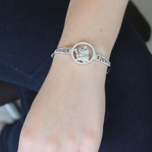 bracelet femme argent zirconium 9500313 pic4