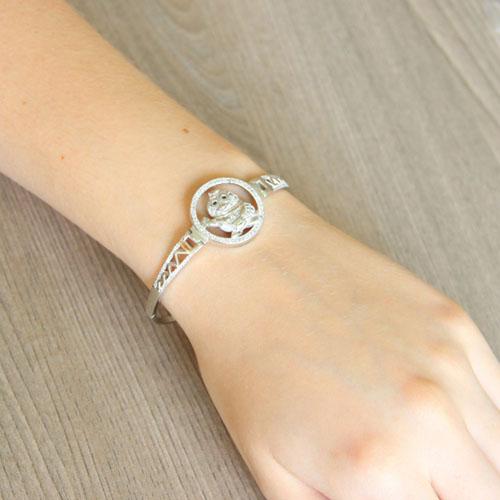 bracelet femme argent zirconium 9500313 pic5