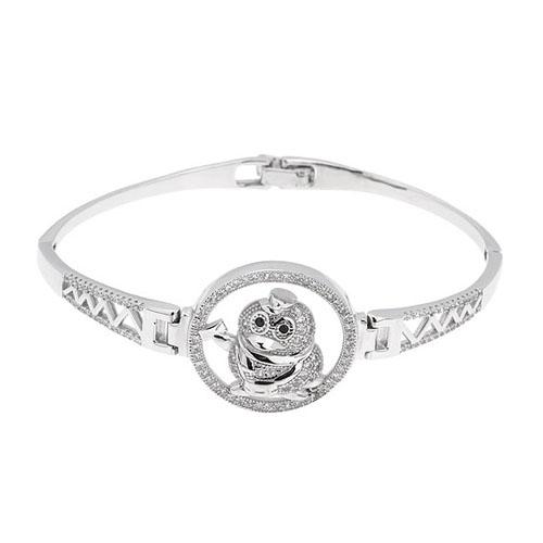 bracelet femme argent zirconium 9500313