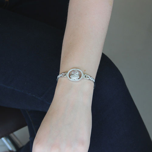 bracelet femme argent zirconium 9500314 pic4
