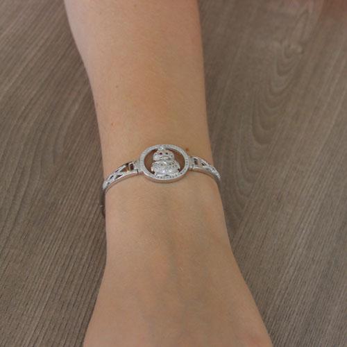 bracelet femme argent zirconium 9500314 pic5