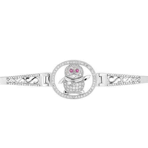 bracelet femme argent zirconium 9500315 pic2