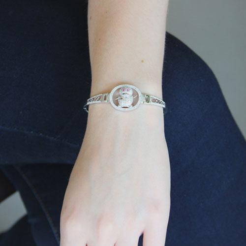 bracelet femme argent zirconium 9500315 pic4