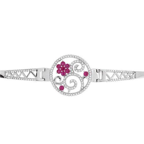 bracelet femme argent zirconium 9500316 pic2