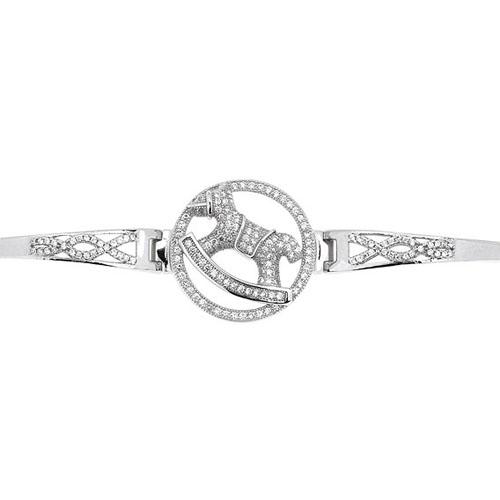 bracelet femme argent zirconium 9500317 pic2