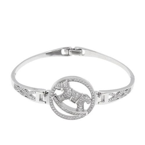 bracelet femme argent zirconium 9500317