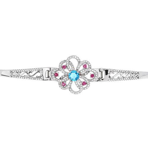 bracelet femme argent zirconium 9500318 pic2