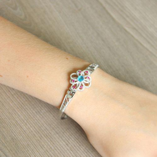 bracelet femme argent zirconium 9500318 pic5