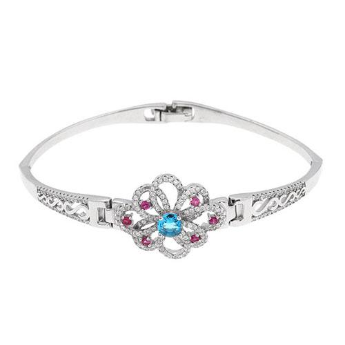 bracelet femme argent zirconium 9500318