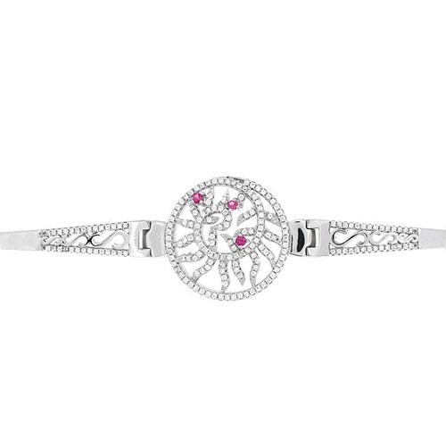 bracelet femme argent zirconium 9500320 pic2
