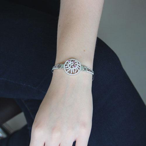 bracelet femme argent zirconium 9500320 pic4