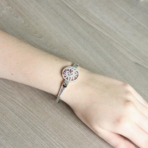 bracelet femme argent zirconium 9500320 pic5