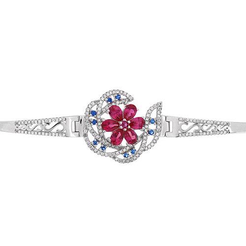 bracelet femme argent zirconium 9500321 pic2