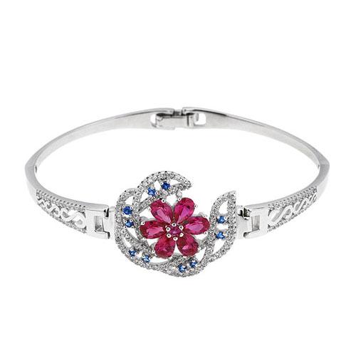bracelet femme argent zirconium 9500321