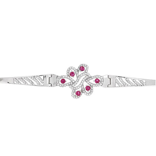 bracelet femme argent zirconium 9500322 pic2