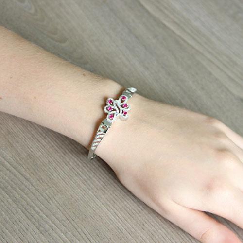 bracelet femme argent zirconium 9500322 pic5