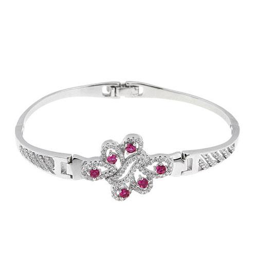 bracelet femme argent zirconium 9500322
